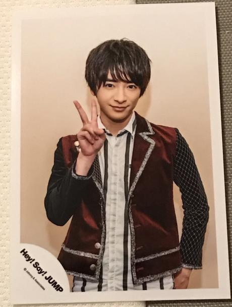 Hey!Say!JUMP知念侑季 生写真 コンサートグッズの画像