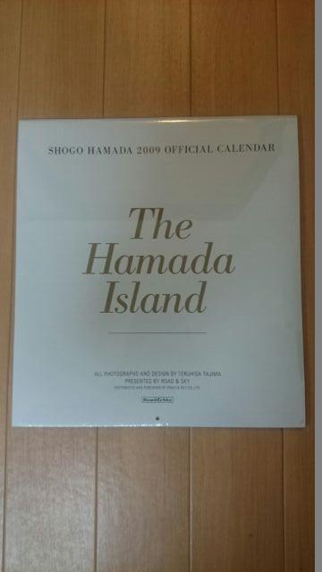 浜田省吾 2009年カレンダー(壁掛) ライブグッズの画像