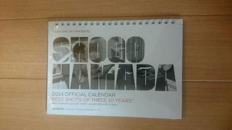 浜田省吾 2014年カレンダー(卓上) ライブグッズの画像