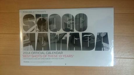 浜田省吾 2014年カレンダー(壁掛) ライブグッズの画像