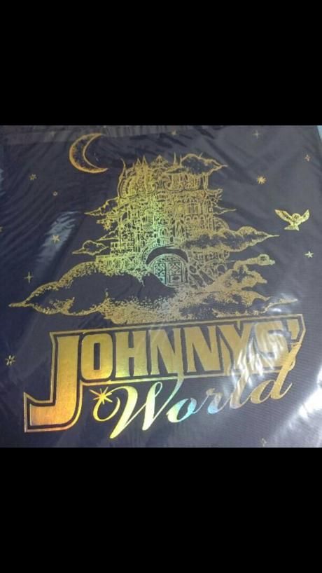Johnnys world パンフレット コンサートグッズの画像