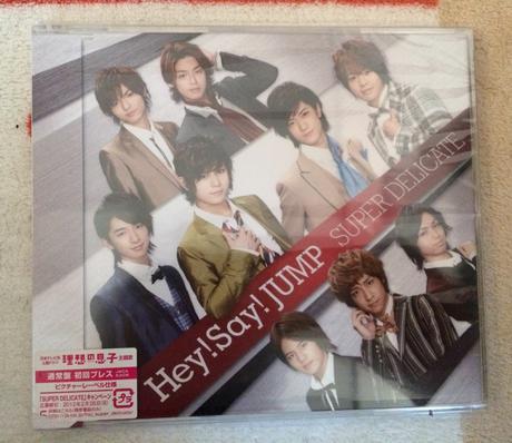 Hey!Say!JUMP SUPER DELICETE 初回通常プレス盤 CD コンサートグッズの画像