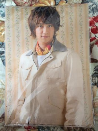 Hey!Say!JUMP 八乙女光 ASIA TOUR 2012 クリアファイル コンサートグッズの画像
