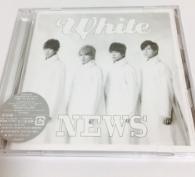 【美品】NEWS CD アルバム White 初回盤