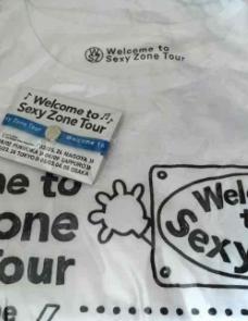 Sexy Zone 2016ツアーTシャツ