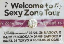 紫ヘアゴム Sexy Zone Tour 2016