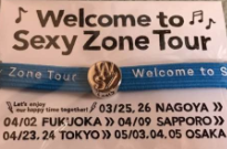 青ヘアゴム Welcome to Sexy Zone tour