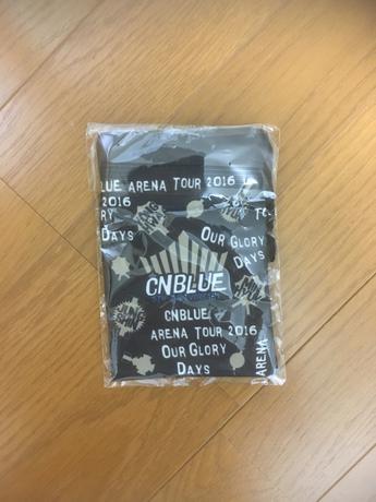 CNBLUE 2016 巾着 ライブグッズの画像