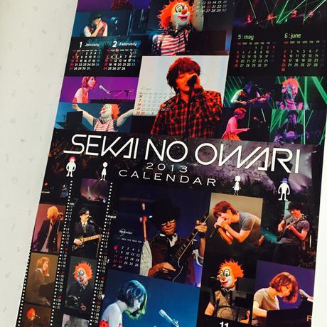 SEKAI NO OWARI / 世界の終わり カレンダー ライブグッズの画像