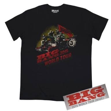ビッグバン Tシャツ ライブグッズの画像