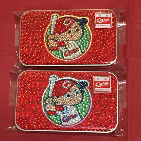 カープキラキラ缶2個セット グッズの画像