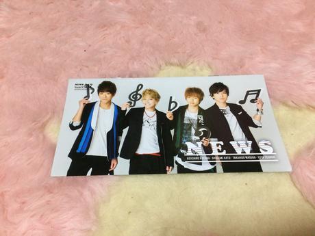NEWS 会報 コンサートグッズの画像