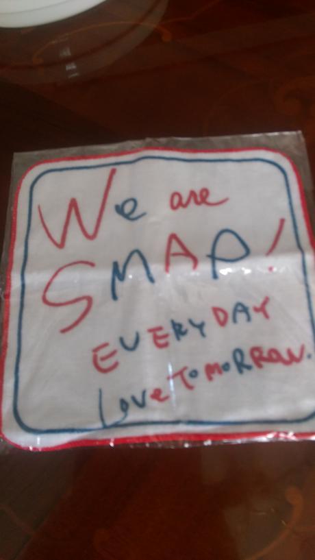 SMAP ハンドタオル 新品 コンサートグッズの画像