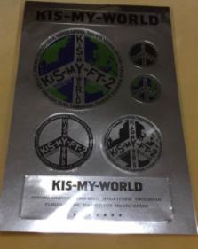 【新品】キスマイワールド ステッカー