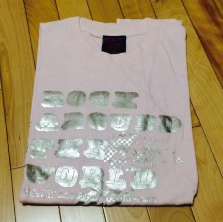 GLAY ツアーTシャツ ライブグッズの画像