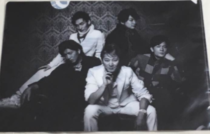 SMAP Mr.S tour クリアファイル コンサートグッズの画像