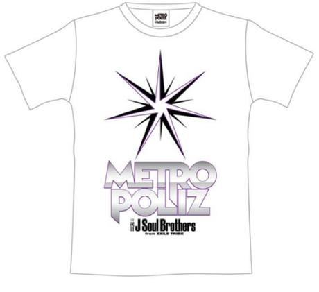 三代目JSB メトロポリス Tシャツ