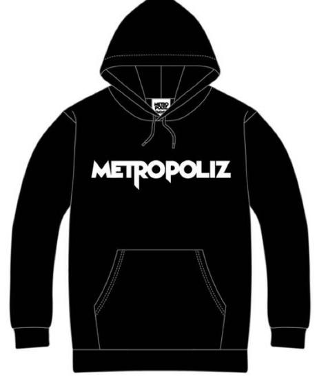三代目JSB METROPOLIZ パーカー(黒)