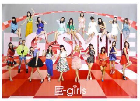 E-girls E.G.SMILE ポスター