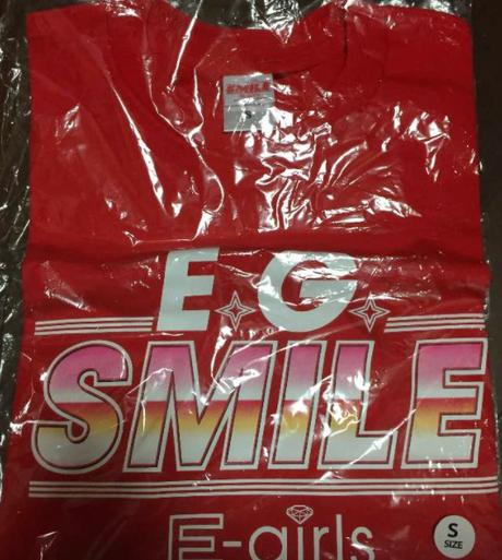 E-girls E.G.SMILE Tシャツ レッド