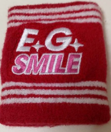 E-girls E.G.SMILE リストバンド