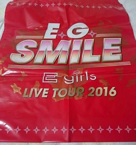 E-girls E.G.SMILE ビニールバッグ