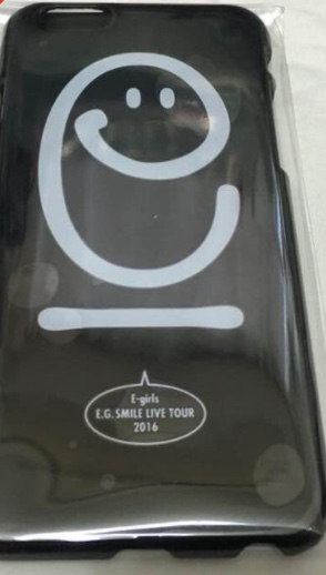 E-girls E.G.SMILE iPhone6ケース ブラック