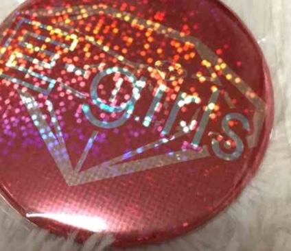 E-girls BIG缶バッジ ES ライブグッズの画像