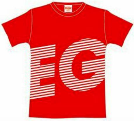 E-girls E.G.SMILE FINAL Tシャツ(赤) ライブグッズの画像