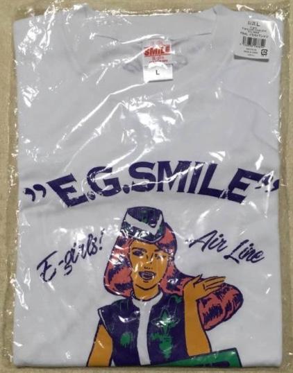E-girls E.G.SMILE FINAL イラストTシャツ