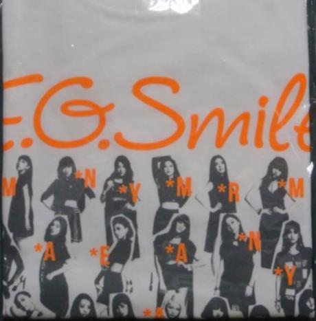 E-girls E.G.SMILE FINAL 会場限定Tシャツ