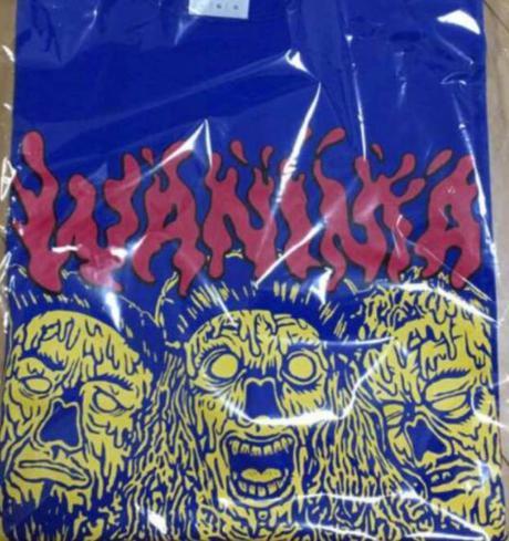 WANIMATシャツ 青 ライブグッズの画像