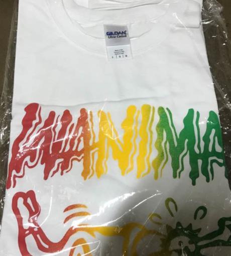 WANIMATシャツ 白 ライブグッズの画像