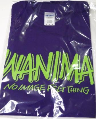 WANIMA Tシャツ 紫 ライブグッズの画像