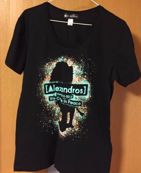 [Alexandros] Tシャツ黒