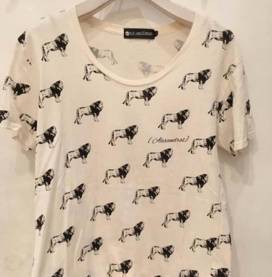 [Alexandros]  Tシャツ白