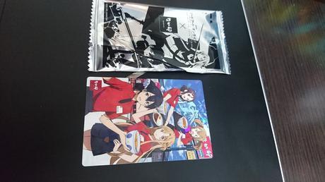 なか卯 ソードアートオンライン カード 集合 レアカード グッズの画像