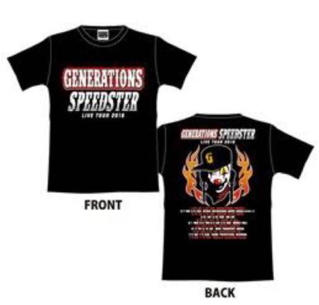 GENERATIONS SPEEDSTER Tシャツ