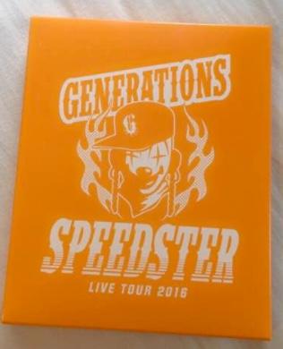 GENERATIONS SPEEDSTER ミラー ライブグッズの画像