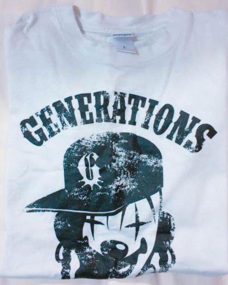 GENERATIONS Tシャツ ホワイト