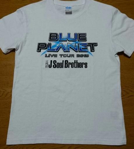 三代目JSB BLUE PLANET Tシャツ ホワイト