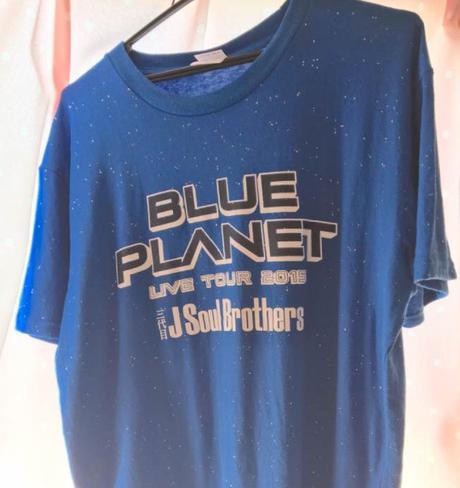 三代目JSB BLUE PLANET Tシャツ ブラック