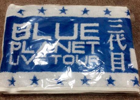 三代目JSB BLUE PLANET Tシャツ ブルー
