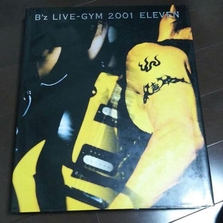 """B'z LIVE-GYM 2001 """"ELEVEN"""" ライブグッズの画像"""