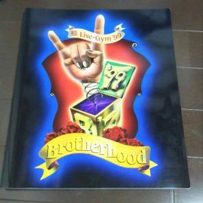 "B'z LIVE-GYM 99 ""Brotherhood"" ライブグッズの画像"