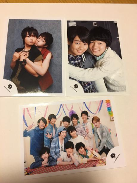 大西流星、西畑大吾、関西Jr公式写真 コンサートグッズの画像