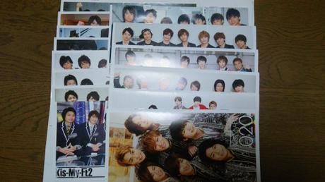 Kis-My-Ft2  会報(No.6~20) コンサートグッズの画像