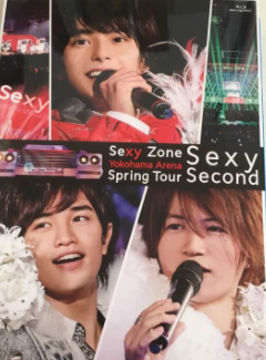 Spring Tour Sexy Second ブルーレイ 初回限定盤