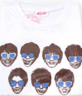 ジャニーズWEST パリピポ Tシャツ コンサートグッズの画像