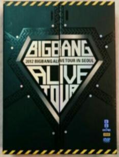 BIGBANG ALIVE TOUR IN SEOUL 初回限定版